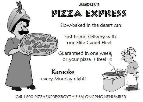 Abdul's Pizza Delivery