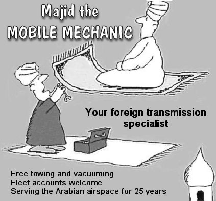 Majid, the Mobile Mechanic