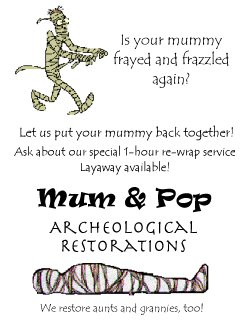 Mum and Pop Archeological Restorations
