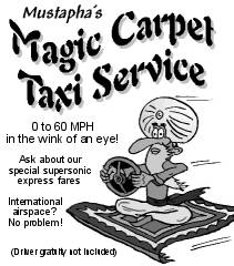 Mustapha's Magic Carpet Taxi