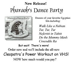 Pharoah's Dance Party!